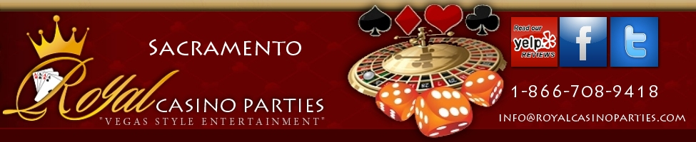 Sacramento Casino Party Rentals